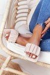 Women's Classic Slippers Beige Looking Good