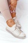 Women's Leather Shoes Maciejka 05054-25 Gold