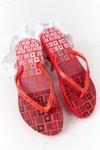 Women's Sliders Flip-Flops Big Star FF274A305 Red