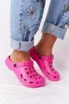 Women's Slides Foam Pink Crocs EVA