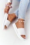 Women's Slippers On A Platform Big Star HH274683 White